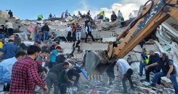 Kinh hoàng hiện trường trận động đất khiến hàng trăm người thương vong