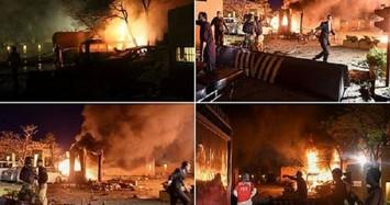 Hiện trường vụ đánh bom khách sạn có Đại sứ Trung Quốc tại Pakistan