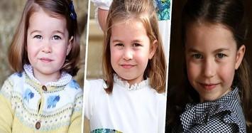 Hình ảnh đáng yêu của tiểu Công chúa Charlotte vừa tròn 6 tuổi