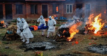 Cảnh tượng ám ảnh tại nơi hỏa táng bệnh nhân COVID-19