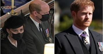 Vì sao Hoàng tử William không nói chuyện với em trai Harry?