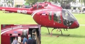 Một đại gia thuê trực thăng đi mua cơm giữa phong tỏa vì COVID-19