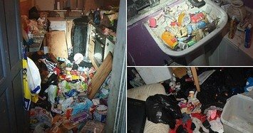 Kinh khủng nơi ở của 6 đứa trẻ trong 'ngôi nhà ổ chuột'