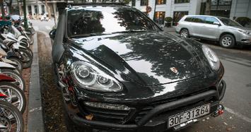 Đại gia Đặng Lê Nguyên Vũ vừa độ xe Porsche Cayenne cực ngầu