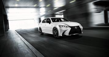 Cận cảnh xe sang Lexus GS Black Line chỉ sản xuất 200 chiếc