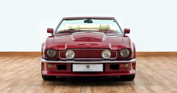 Cận cảnh xe cổ Aston Martin V8 Volante 1988 của David Beckham
