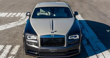 Cận cảnh xe siêu sang Rolls-Royce Wraith Eagle VIII hơn 18 tỷ của giới đại gia