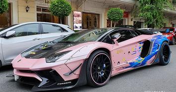 Ngắm Lamborghini Aventador có màu độc nhất tại Việt Nam