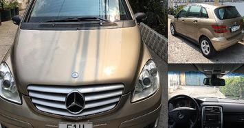 Cận cảnh MPV hạng sang Mercedes-Benz B150 chỉ 325 triệu