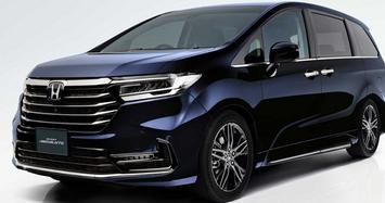 Cận cảnh Honda Odyssey 2021 cửa đóng mở vân tay có giá gần 800 triệu đồng