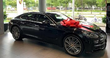 Bạn gái CEO Tống Đông Khuê khoe chìa khoá Porsche hơn 5 tỷ