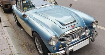 Chùm ảnh ô tô cổ Austin-Healey 3000 MK III độc nhất ở Sài Gòn