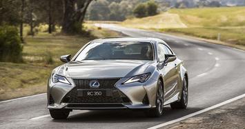 Cận cảnh Lexus RC 2021 sang chảnh giá hơn 1 tỷ đồng