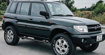 Mitsubishi Pajero Pinin giá chỉ 400 triệu đồng