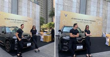 Hồ Ngọc Hà chi tiền tỷ mua 'xe chủ tịch' VinFast President