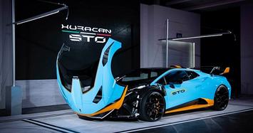 Cận cảnh Lamborghini Huracan STO giá từ 23 tỷ đồng