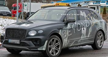 Xe siêu sang Bentley Bentayga lần đầu lộ diện