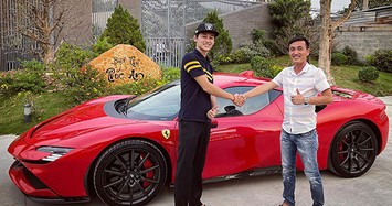 Đại gia Sài Gòn chi đống tiền mua siêu xe Ferrari SF90 Stradale và F8 Spider