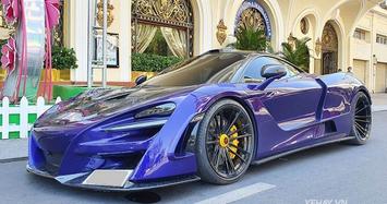 Xem McLaren 720S giá hơn 20 tỷ sở của đại gia Sài Gòn