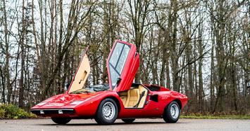 Cận cảnh bộ đôi Lamborghini Miura và Countach giá hơn 85 tỷ đồng