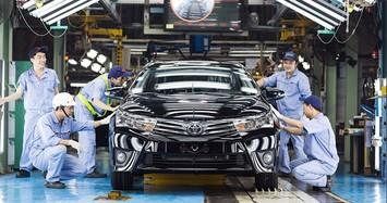 Không đồng ý giảm 50% phí trước bạ ôtô đăng ký mới
