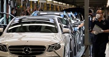 Mercedes-Benz GLC có nguy cơ cháy khi đang lăn bánh