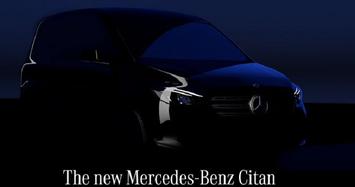 Nhá hàng MPV hạng sang Mercedes Citan 2022