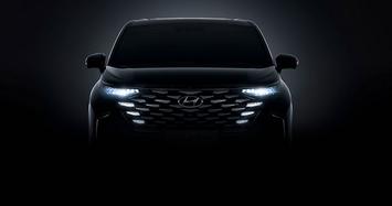 Mẫu MPV cỡ trung Hyundai Custo 2022 được... nhá hàng