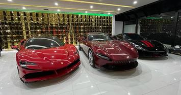 Mục sở thị garage siêu xe của đại gia Campuchia