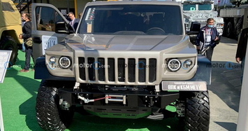 Cận cảnh Hummer hàng khủng giá rẻ của người Nga
