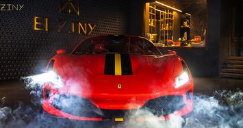Cận cảnh siêu xe độc nhất thế giới Ferrari F8 Tributo Modena Italy