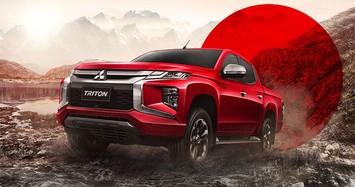 Cận cảnh xe bán tải Mitsubishi Triton Passion Red Edition giá từ 606 triệu đồng