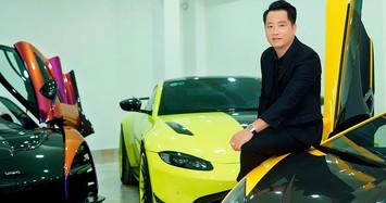 Đại gia Sài Gòn mang dàn siêu xe 185 tỷ đồng đi bảo dưỡng