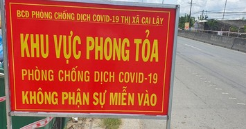 Từ 0h ngày 12/6, Tiền Giang thực hiện giãn cách xã hội để phòng chống COVID-19