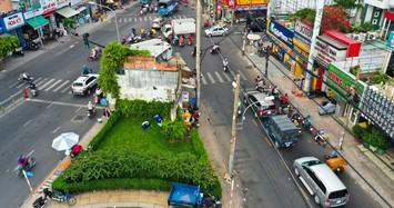 Cận cảnh căn nhà 4 mặt tiền giữa ngã tư ở Sài Gòn được đền bù 5,1 tỉ đồng
