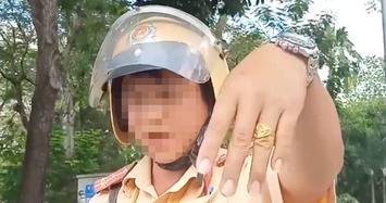 Danh tính CSGT chửi tục bị người vi phạm quay clip ở Sài Gòn