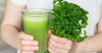 Nước ép cần tây là thức uống detox cơ thể yêu thích của nhiều sao quốc tế