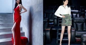 Gu thời trang của mỹ nhân có đôi chân đẹp nhất Cbiz