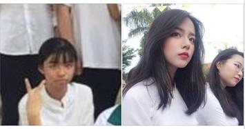 Màn dậy thì của nữ sinh Quảng Bình khiến dân mạng há hốc mồm