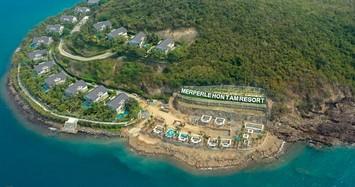 Cận cảnh công trình không phép ở đảo Hòn Tằm, lấn danh thắng vịnh Nha Trang