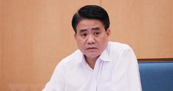 Bộ Chính trị đình chỉ sinh hoạt Đảng bộ đối với ông Nguyễn Đức Chung