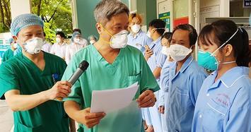 Thứ trưởng Bộ Y tế Nguyễn Trường Sơn tạm biệt Đà Nẵng, ra hỗ trợ Hải Dương chống dịch