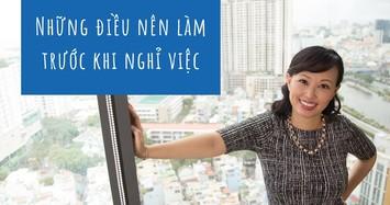 Shark Thái Vân Linh: Những điều nên làm trước khi nghỉ việc