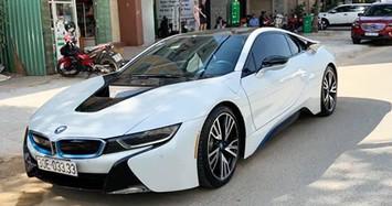 """Chiêm ngưỡng BMW i8 biển """"tứ quý"""" giá hơn 4 tỷ ở Hà Nội"""