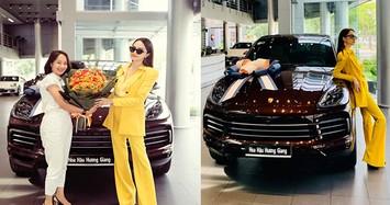 Ngắm Porsche Cayenne 2020 gần 5 tỷ đồng Hương Giang vừa sắm
