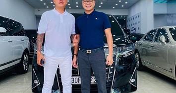 Cận cảnh Toyota Alphard gần 4 tỷ đồng của ca sỹ Tuấn Hưng