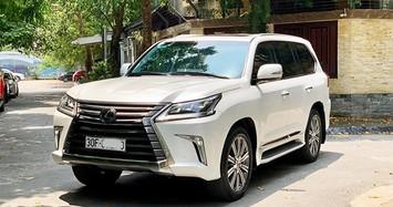 Cận cảnh Lexus LX570 chạy 4 năm có giá hơn 6 tỷ ở Hà Nội