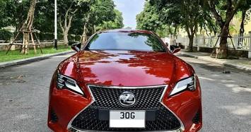 Xe sang Lexus RC 300 chạy lướt giá gần 3 tỷ đồng