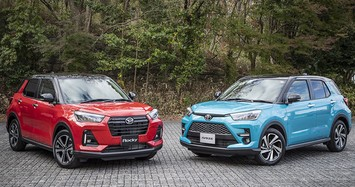 Cận cảnh xe gầm cao giá rẻ Toyota Raize chỉ hơn 500 triệu đồng
