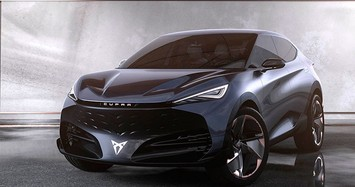 SUV-Coupe thể thao gắn logo VinFast lộ diện